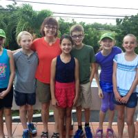 Ontario students and supervising teacher, Carey Gallagher, volunteered in Grenada. image