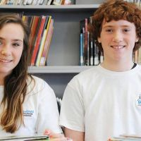 Julia Goddard and Alex Boland from Gordon B. Attersley, Oshawa, ON. image